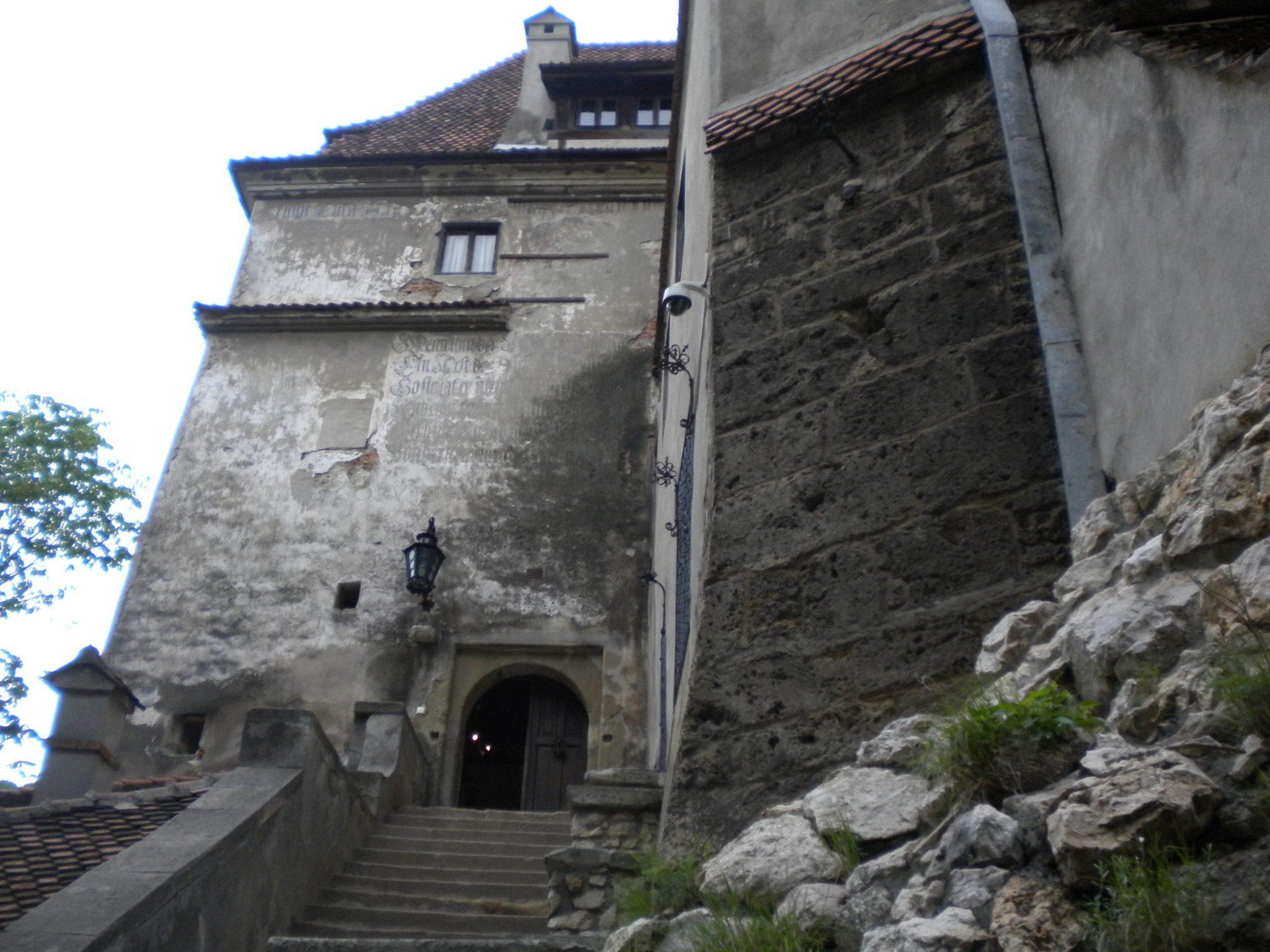 Newer Entrance Into Bran Castle ...