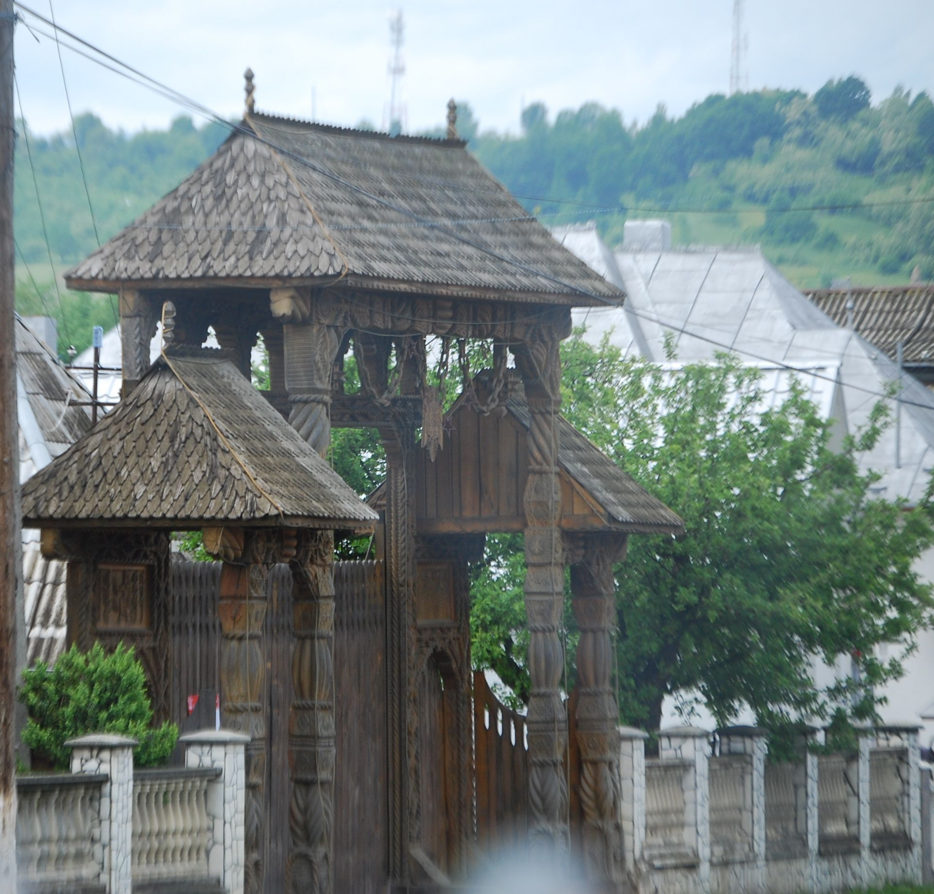 A local lunch in sapanta romania travels with sheila - Houses maramures wood ...