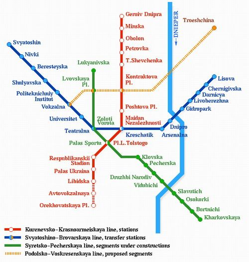 Kiev has some of the deepest subway stations in the world ... TIRANA SUBWAY MAP