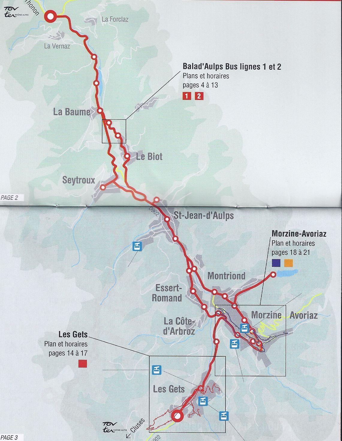 Transportation To From and Around Morzine France Portes du Soleil
