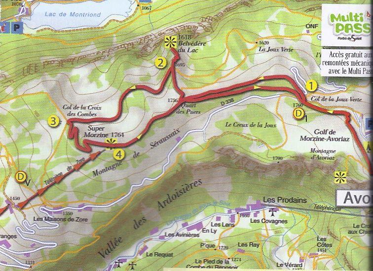 Hike the Woodpecker Trail in Morzine France Portes du Soleil