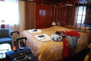 all-suite cabin on Sea Spirit ship