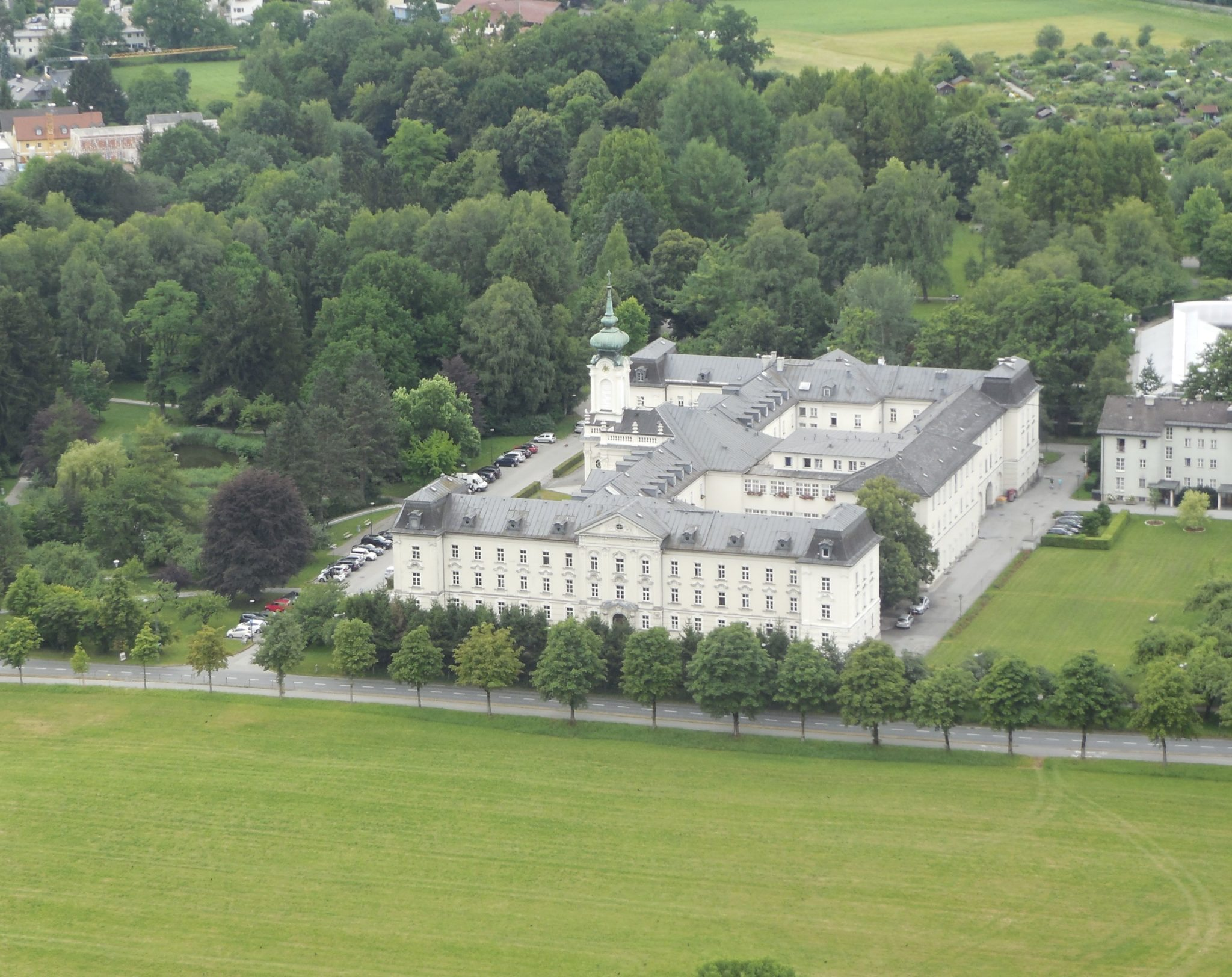 The Astonishing Hohensalzburg Fortress And Castle Looms