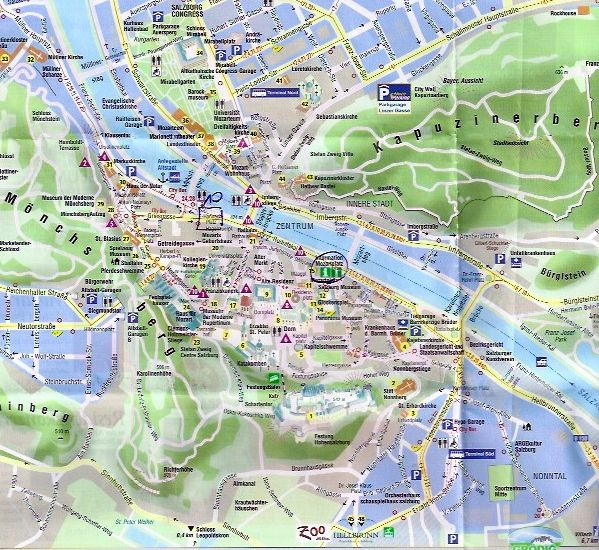 There are a gazillion tours to choose from in Salzburg Austria