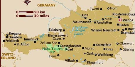 Take A Summer Trip Into The Dazzling Austrian Alps Travels With - Klagenfurt austria map