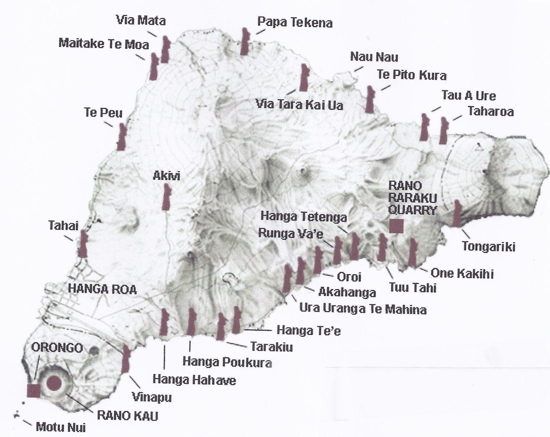 Tour Easter Island The 15 Moai of Ahu Tongariki Travels With Sheila