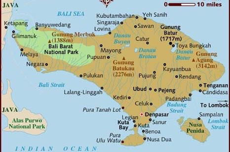 Denpasar bali airport arrivals and departures travels with sheila map of bali indonesia sciox Image collections
