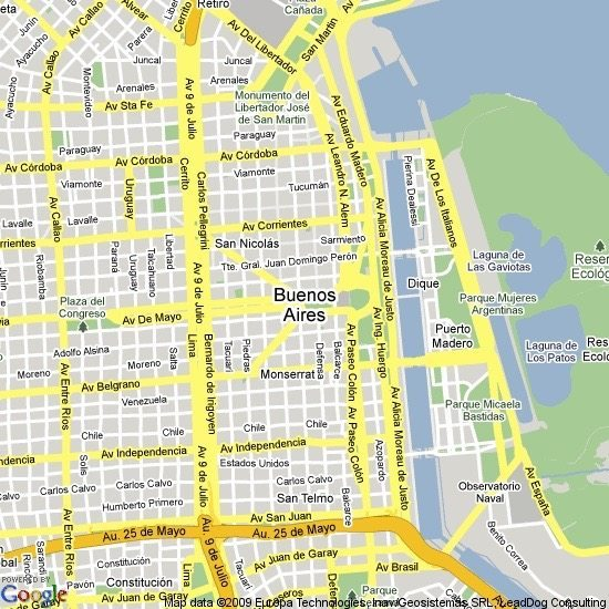 Astonishing and Massive San Telmo Fair in Buenos Aires Travels – Tourist Map Of Buenos Aires