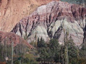 7 color Hill in Purmamarca, Argentina