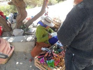 seller at Hill of 7 Colors, Argentina