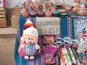 souvenirs for sale in Humahuaca, Argentina
