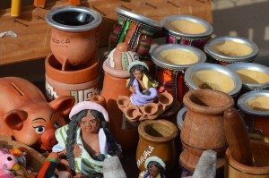 mate for sale in Humahuaca, Argentina