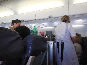 on Aerolineas Argentina 737-700 equipment