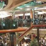 Center Atrium on Splendour of the Seas cruise ship
