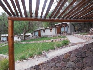 individual casitas at Posada Don Juan, Tilcara