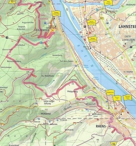Rhine Castle Trail from Koblenz to Rhens Germany Travels With Sheila