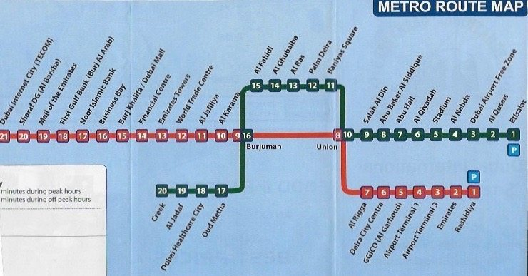 How to Use the Dubai Metro System Travels With Sheila