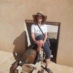 TravelsWithSheila at Nizwa Fort, Oman