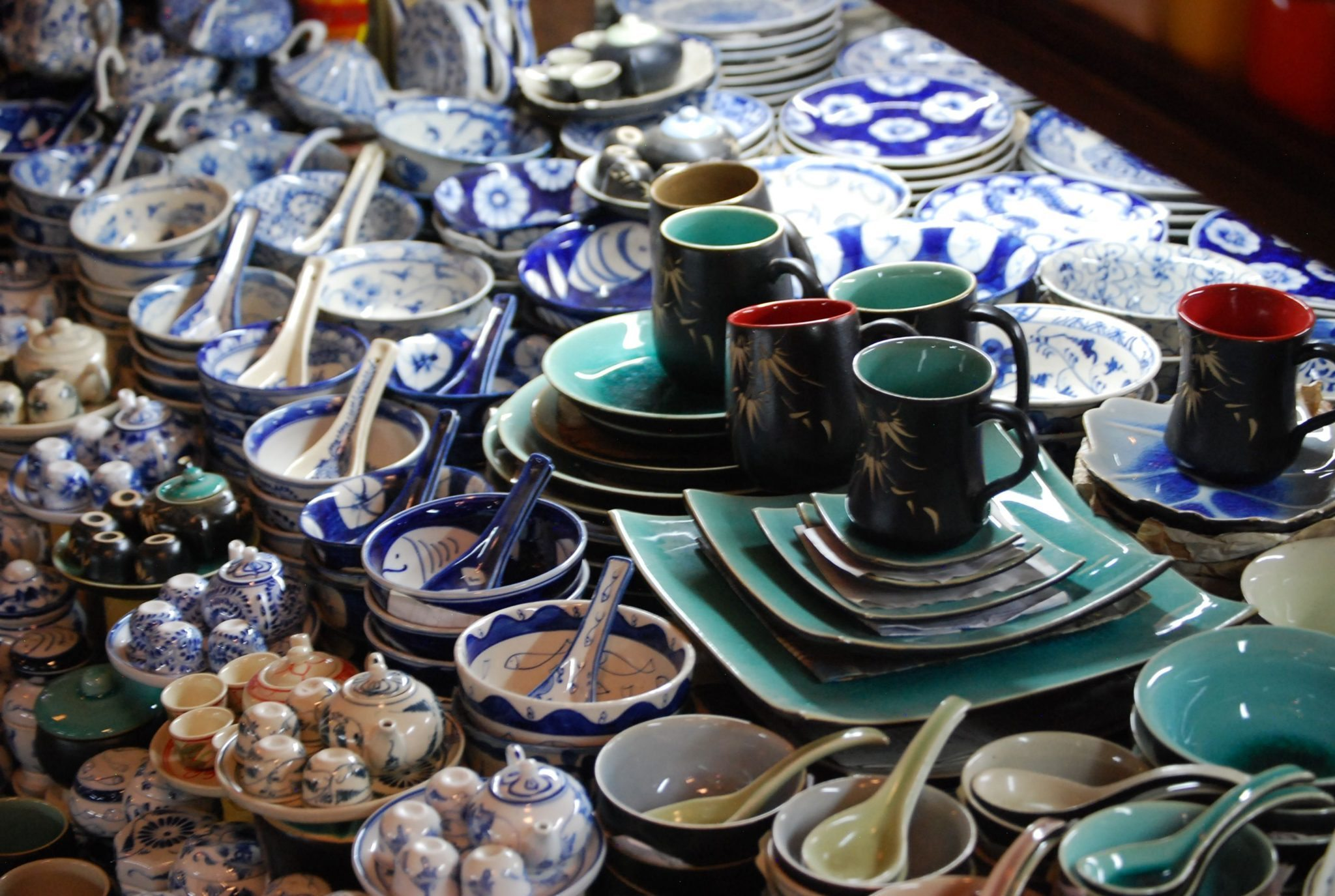 ceramics in Russian Market ... & The Excellent and Fun Russian Market in Phnom Penh Cambodia ...