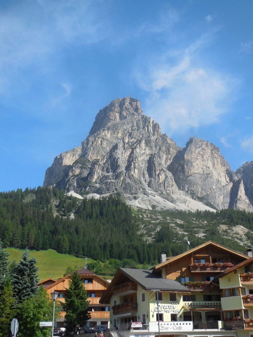 Trails for Walks Bikes and Hikes in the Alta Badia Velley Italy